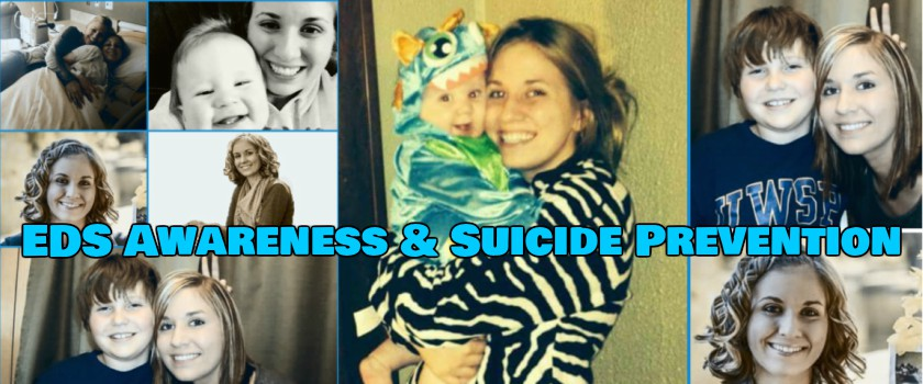 Image of EDS Awareness & Suicide Prevention Banner
